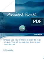 Ancient Korea PPT