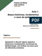 Epidemiologia História e Usos 2012