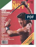 Inside Kung Fu - March 1986 - Sword Myth - Everett