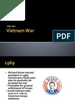 Vietnam War 1969-1975