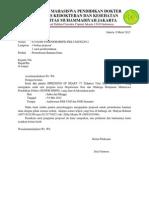 Surat Pengantar Proposal Sponsoship