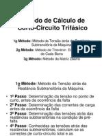 Método de Cálculo de Curto Circuito trifasico