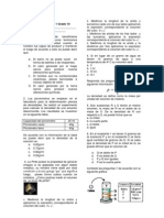 Examen de Periodo 1 de Quimica Grado 10