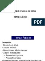 Arboles