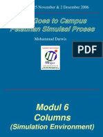 Modul 6 Hysys - Columns (Simulation Environment)