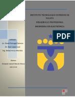 Desarrollo Profesional Tendencias Del Desarrollo Dela Ingenieria Electronic A