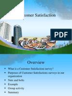 Customer Satisfaction PPT @ BEC DOMS 2010