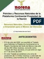 20120310 Petróleo y Recursos Naturales de la Plataforma Continental Propiedad de la Nación