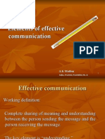 51475087 Elements of Effective Communication
