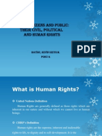 Citizen and Public Rights