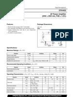 amplificador 1 THD stk4432