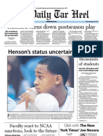 The Daily Tar Heel for March 14, 2012