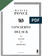 Concierto Del Sur - Score -Guitar(4)