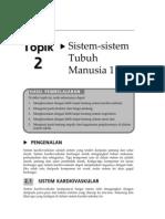 Topik 2 - Sistem Kardiovaskular, Respiratori dan Saraf