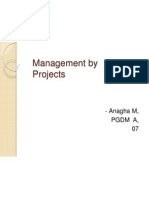 Management by Projects Ppt