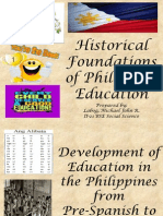 Historical Foundations of Philippine Education (2)