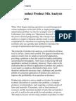 Product Mix Analysis3