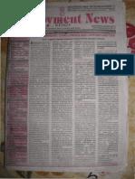 Employment News online e paper | Rojgar Samachar | रोजगार समाचार New Delhi Edition 10 - 16 March 2012 Vol. XXXVI No. 50