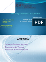 Estrategias Sanitarias Nacionales