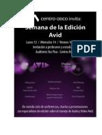 Invitacion Completa Semana Avid Version Marzo 6 FINAL (1)