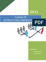 Unidad III Estructura rial