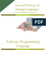 Lec 3 - Programming Language
