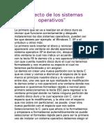 Proyecto de Los Sistemas Operativos