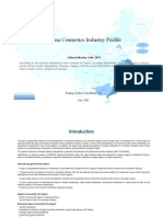 China Cosmetics Industry Profile Cic2672