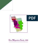 Goa Migration Study 2008