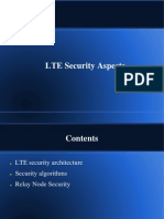 LTE Security Aspects
