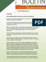 Resumen de Noticias Ambientales 13.03.2012 / RED MUQUI