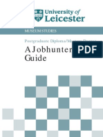 University of Leicester's Guide to Job Hunting