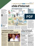 Internet Invisible - Le Parisien - 13 mars 2012