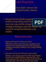Ch 07 Proyeksi kristal