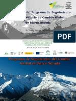 Arquitectura del Programa de Seguimiento del Observatorio de Cambio Global de Sierra Nevada