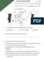 A1 Geografia Teste 7 Dez08 Adaptado