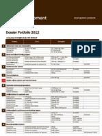 Global Development Int_ Dossier Portfolio