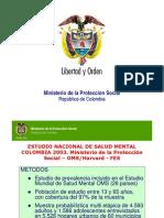 Estudio Nacional de Salud Mental Colombia 2003-2004