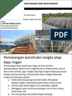6 Melaksanakan Pekerjaan Pemasangan Rangka Atap Baja Ringan1