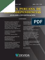 Revista Peruana de Drogodependencias