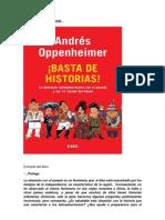 Resumen Libro Basta de Historias