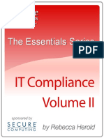 The Essentials Series IT Compliance Volume Two