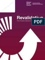 Post-Consultation Statement on Re Validation for Dentists