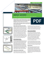 Bentley AutoPIPE Product Data Sheet