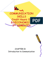 Notes-Lecture1 Introduction Communication Skills
