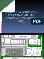 Plano de La Institucion