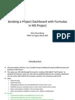 MS Project 2010 Formule