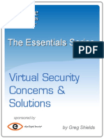 The Essentials Series Virtual Security Concerns & Solutions