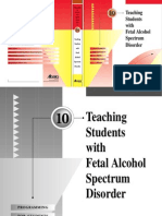 Teaching Students with Fetal Alcohol Spectrum Disorder