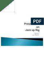 Jack up rig